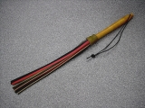 Antique Leatherwhip 11 tails  length 2.3 foot